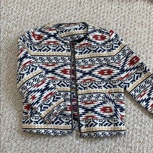 Printed jacket/blazer